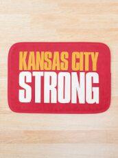 Kansas City Starker Sportfan Badematte