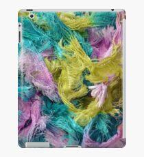 Colorful yarn pattern iPad Case/Skin
