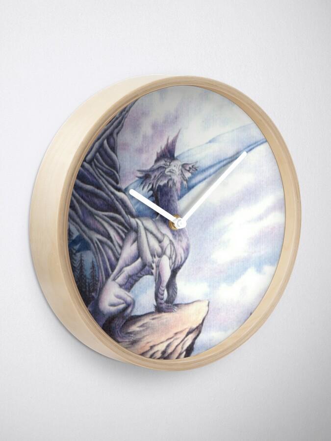 Alternate view of Dragon Island  Clock