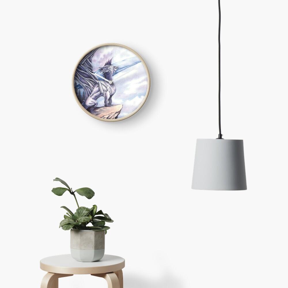 Dragon Island  Clock