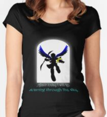 Soaring Women's Fitted Scoop T-Shirt