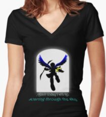 Soaring Women's Fitted V-Neck T-Shirt