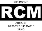 Richmond Airport RCM by AvGeekCentral