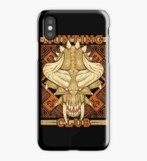 Hunting Club: Diablos iPhone Case