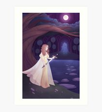Of Swords and Stories Art Print