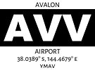 Avalon Airport AVV by AvGeekCentral