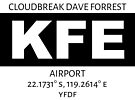 Cloudbreak Dave Forrest Airport KFE by AvGeekCentral