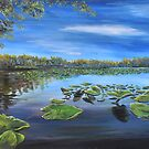 Lily Pads on the Water by Wendy Crouch