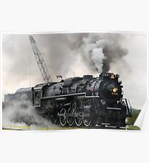 Smokey Train Poster