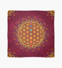 Blume des Lebens, Chakren, Yoga, Zen, Meditation Tuch