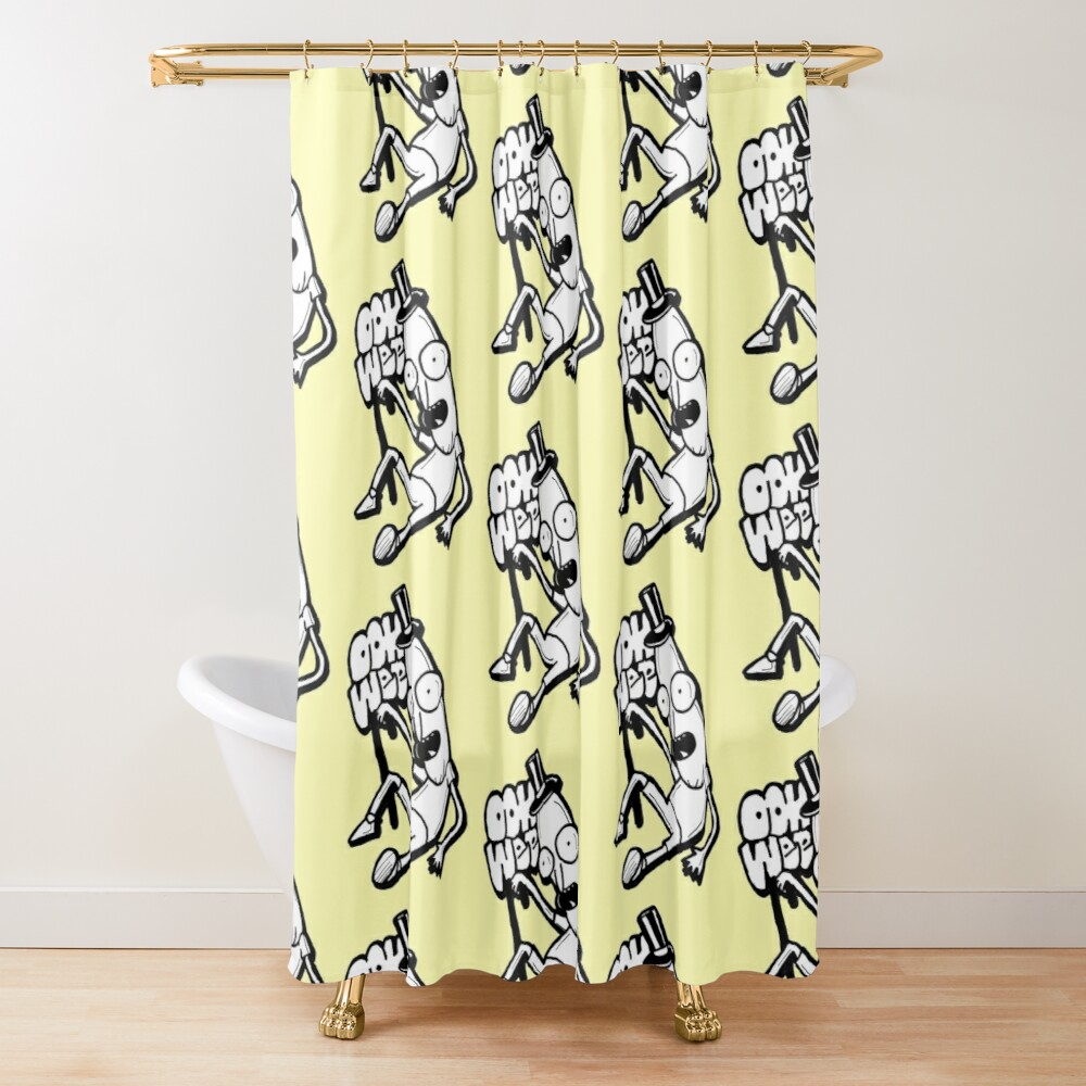 Mr Poopybutthole from Rick and Morty™ Ooh Wee Shower Curtain