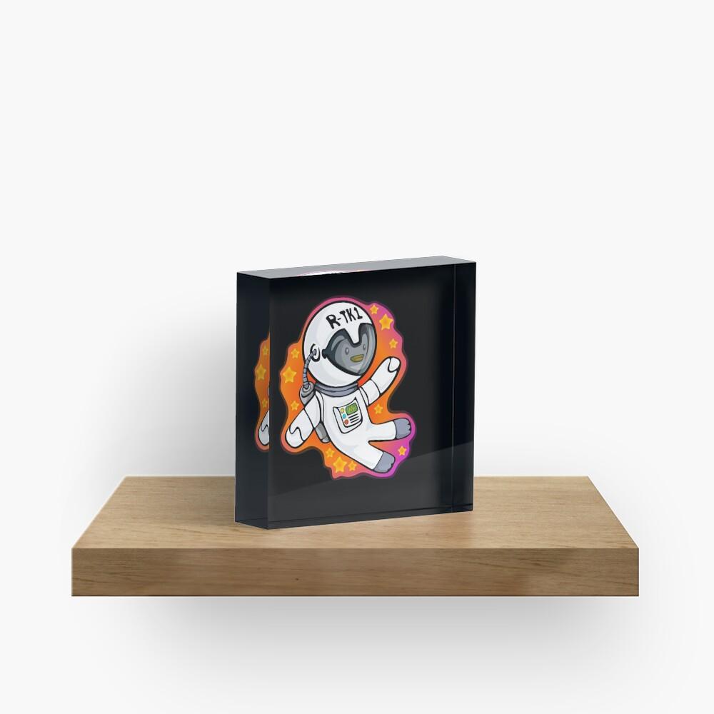 Penguinaut Acrylic Block