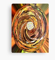 Dreamland-Flowers in the Forest Metal Print