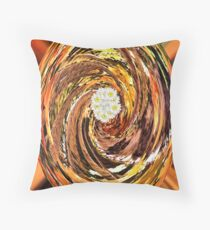 Dreamland-Flowers in the Forest Throw Pillow