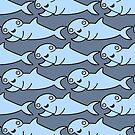 Hammerhead Shark Repeat  by zoel