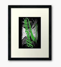 Hamsterdam - Cloud Nine Edition (Green) Framed Print