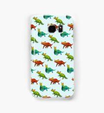 dinos all over - ceratopsians Samsung Galaxy Case/Skin