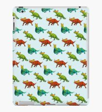 dinos all over - ceratopsians iPad Case/Skin