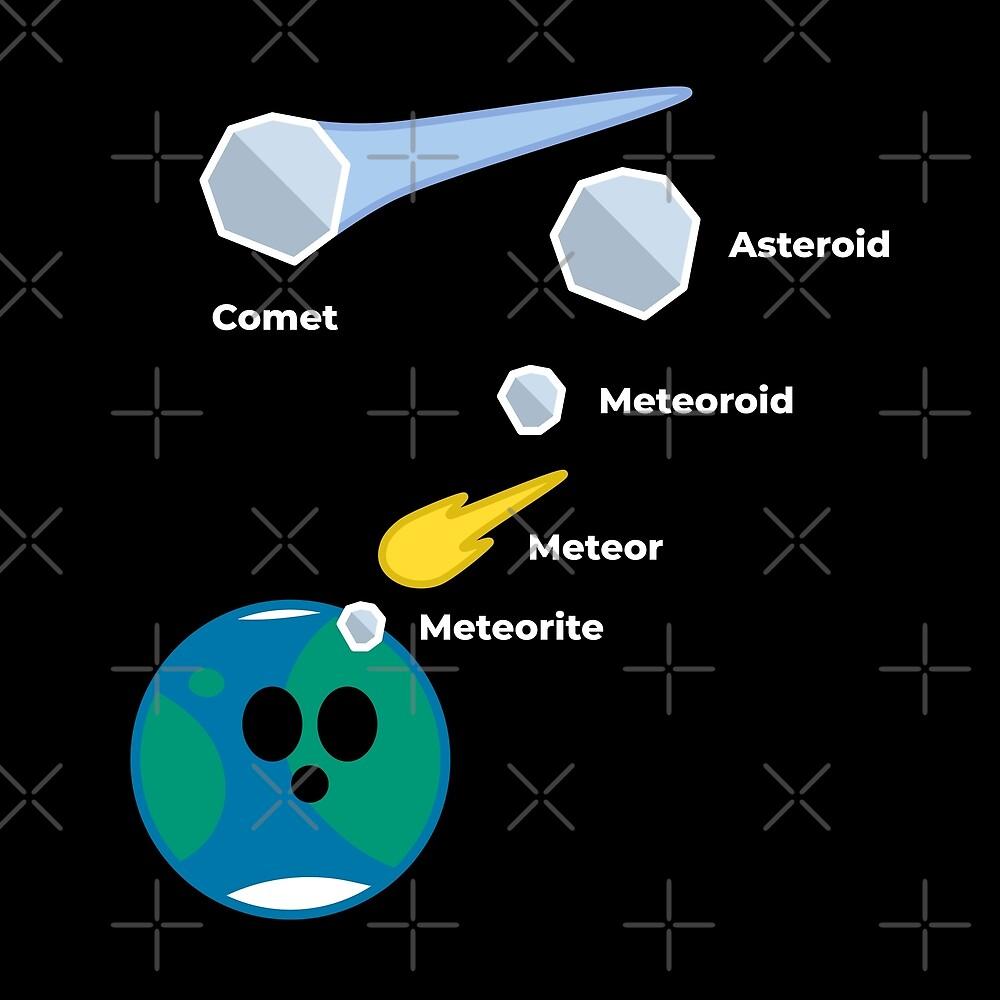 Space Rocks! Comets, Asteroids, Meteoroids, Meteors and Meteorites by science-gifts