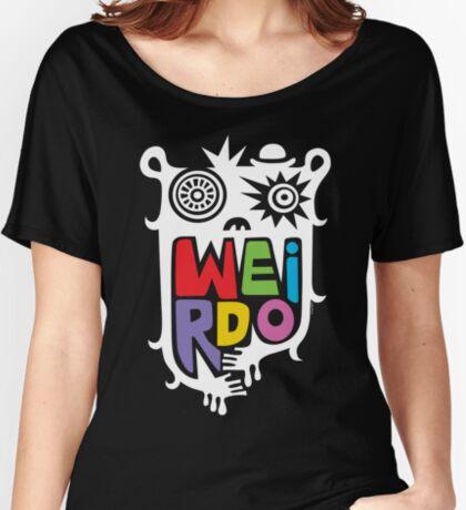 Big Weirdo - on black Women's Relaxed Fit T-Shirt