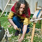 Woodworker by MariaVikerkaar