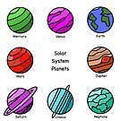 Solar System Planets - Super Eight by Starzology