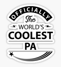 The World's Coolest Pa Sticker