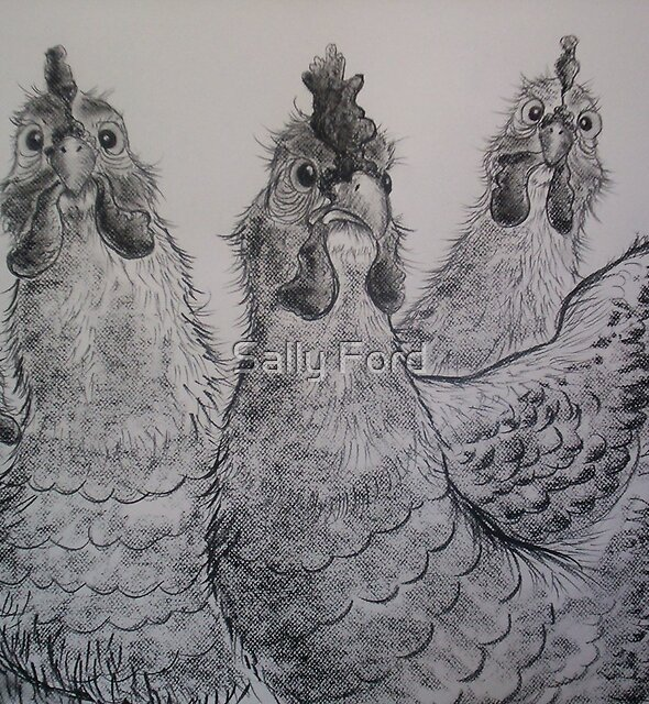 Eggs? What Eggs? by Sally Ford