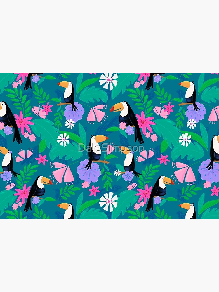 Tropical Toucan Jungle by DaleSimpson