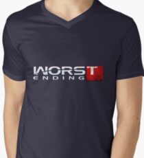 Worst Ending Men's V-Neck T-Shirt