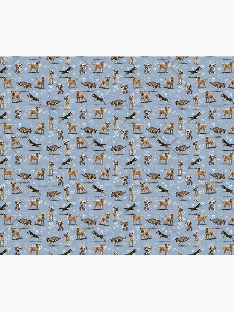 The Border Terrier by elspethrose