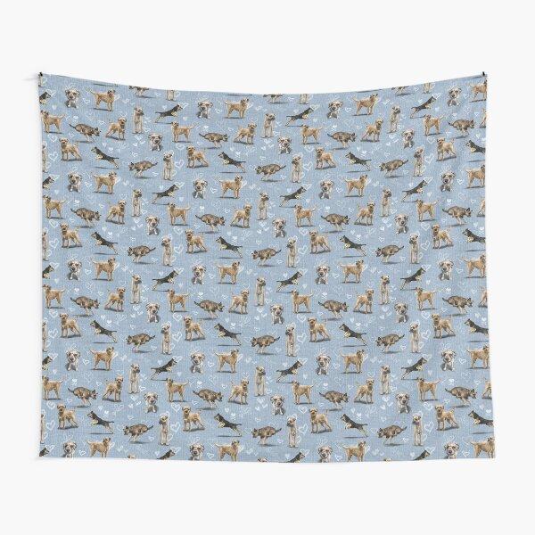 The Border Terrier Tapestry