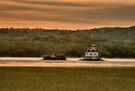 Sunrise over the Esopus Meadows Lighthouse by JHRphotoART