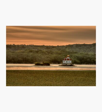 Sunrise over the Esopus Meadows Lighthouse Photographic Print