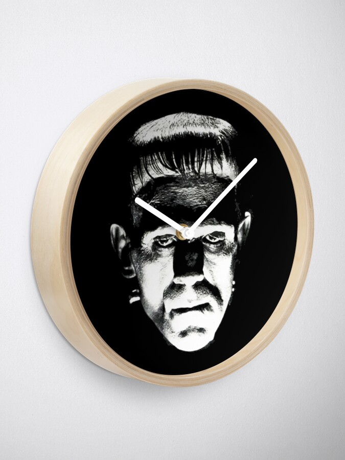 Alternate view of Frankenstein Clock