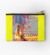 Keep Calm and Follow The Yellow Brick Road  Wizard Of Oz  Studio Pouch