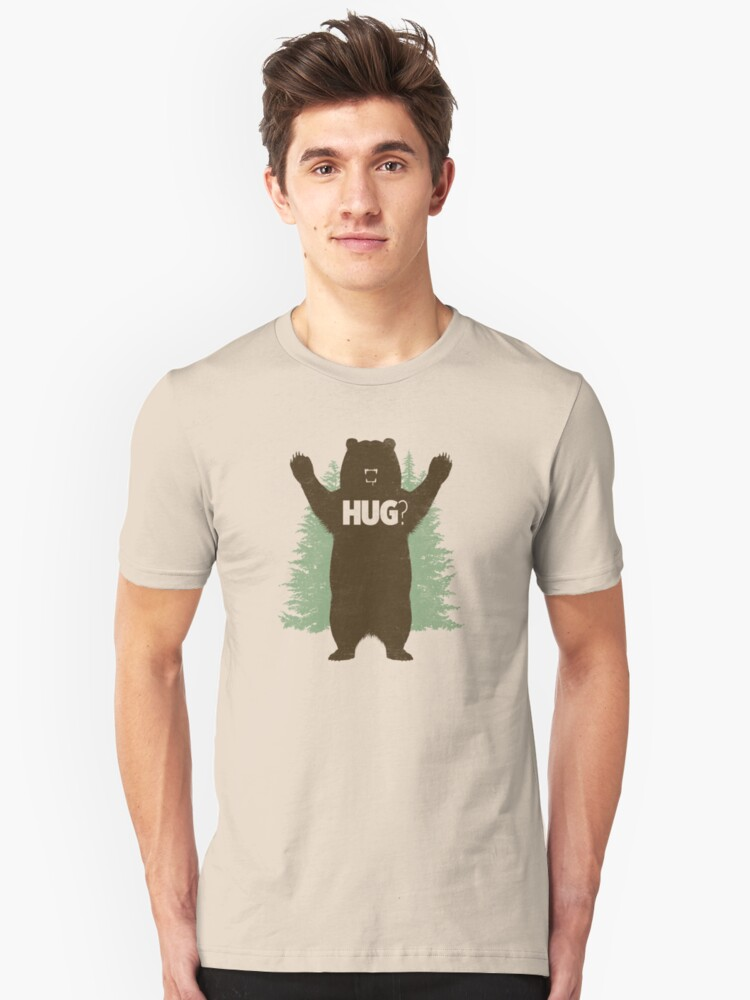 Bear Hug (Light) T-Shirt Unisex T-Shirt Front