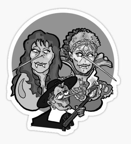 Vampire Hunting Sticker