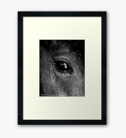 Her Soul  Framed Print