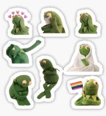 Pegatina Paquete de pegatinas Kermit