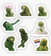 Kermit Sticker Pack Sticker