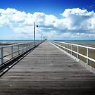 Jetty - Hervey Bay- Australia by Roger Hodkinson