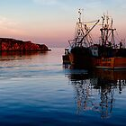 Port Ellen: Harbour Dusk by IslayFineArt