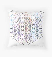 Carina Flower of Life | Sacred Geometry Throw Pillow