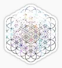 Carina Flower of Life | Sacred Geometry Sticker