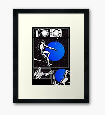 Time Page 01 - Inks Framed Print