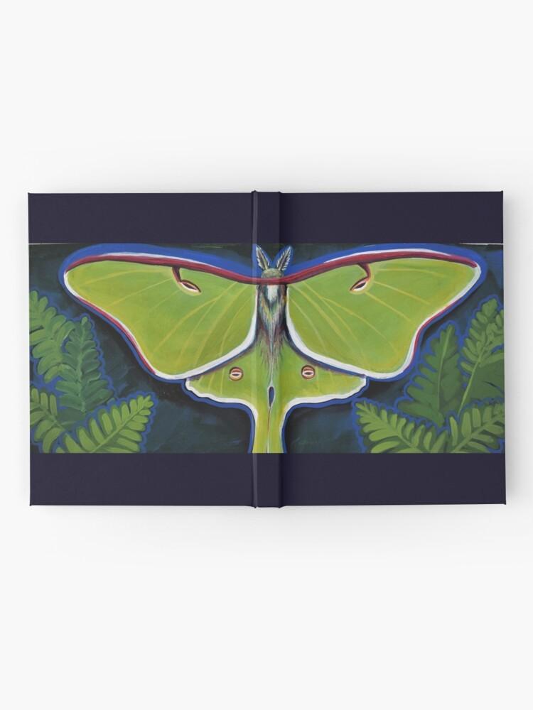Alternate view of Luna Moth Hardcover Journal