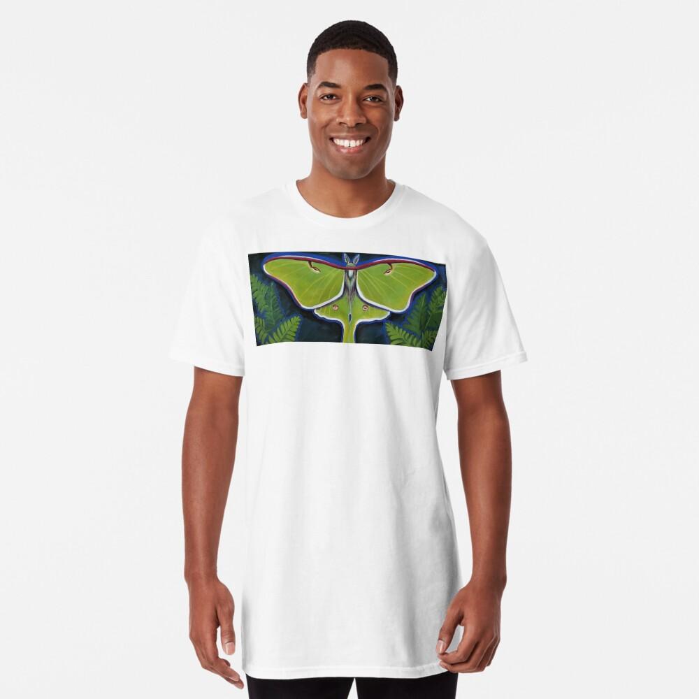 Luna Moth Long T-Shirt