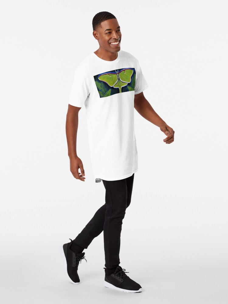 Alternate view of Luna Moth Long T-Shirt
