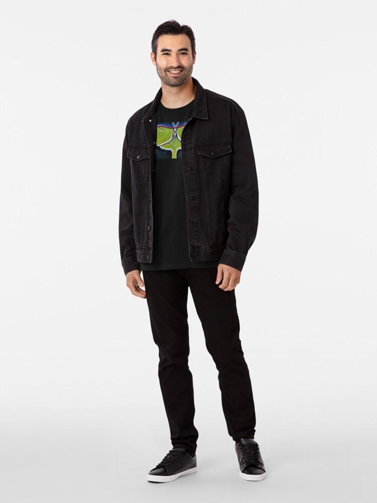 Alternate view of Luna Moth Premium T-Shirt